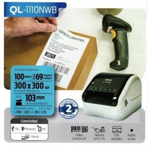 Etiquetadora QL-1110NWB