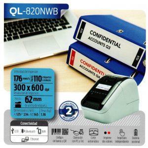 Etiquetadora QL-820NWB