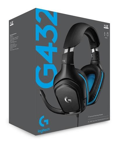 Headset Gaming Logitech G432
