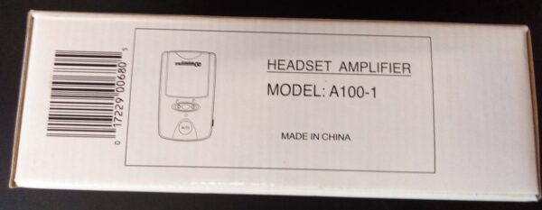 Caja de Headset Amplificador Modelo A100-1
