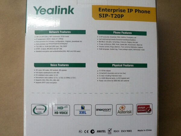 Yealink IP Phone T20P