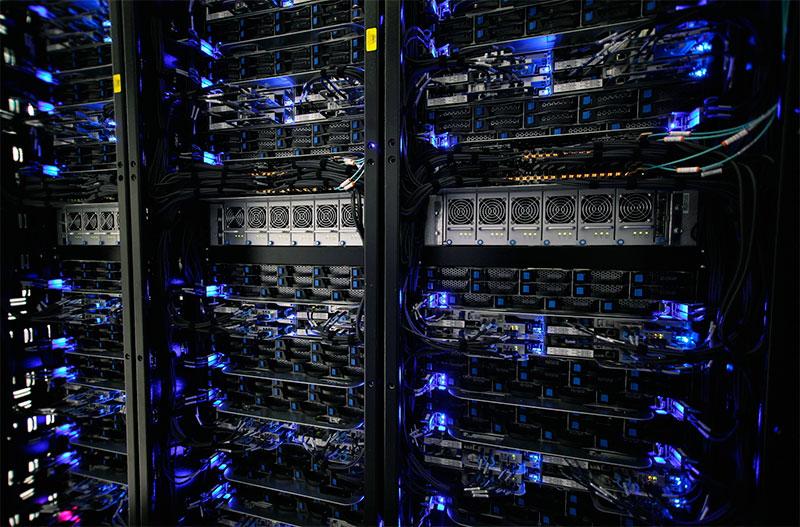 Servidores en Datacenters