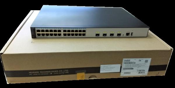 S5720-28X-PWR-LI-AC sobre Caja